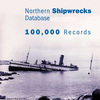 Shipwrecks Database Shipwreck, Shipwrecks, Northern Shipwrecks Database, Northern Maritime Research Inc., Disasters At Sea, Titanic, famous shipwrecks, treasure wrecks salvage, goin coins